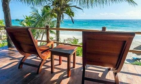 beach fron paradise